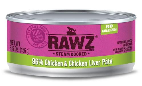 Rawz Cat 96% Chicken & Chicken Liver