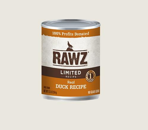 Rawz Dog Limited Recipe Duck Can