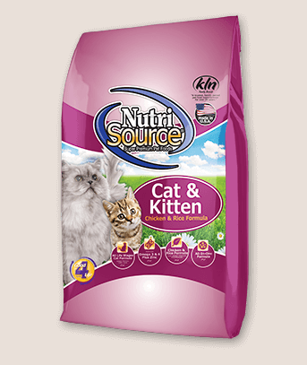 NutriSource Cat & Kitten Chicken & Rice