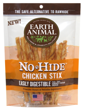 Earth Animal No Hide Chicken Stix Single