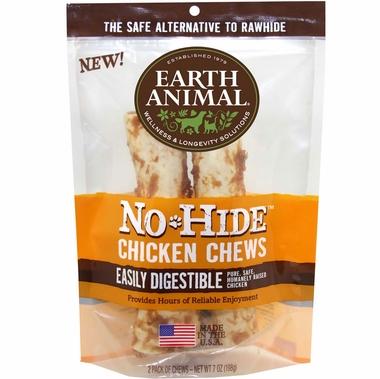 Earth Animal No Hide Chicken Chew  2 pk.