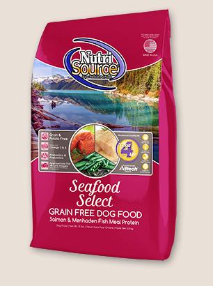 Seafood Select Grain Free Dog Food