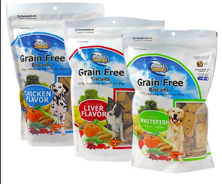 NutriSource Grain Free Biscuits 14 oz.