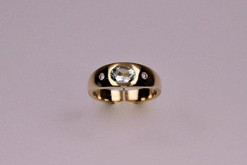 Goldring aus 585 Gelbgold