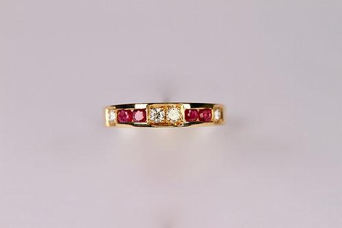 Ring aus 750 Gelbgold