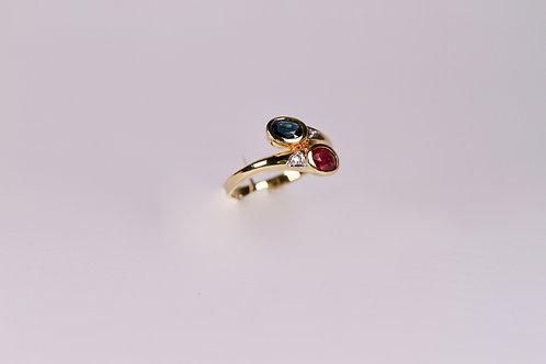 Ring aus 585 Gelbgold