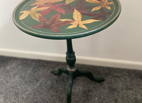Real leafs side table