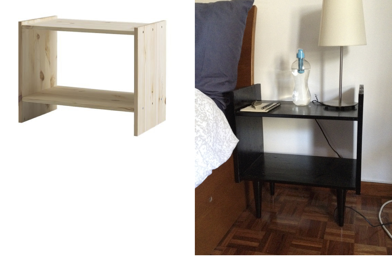 Rast Bedside Table