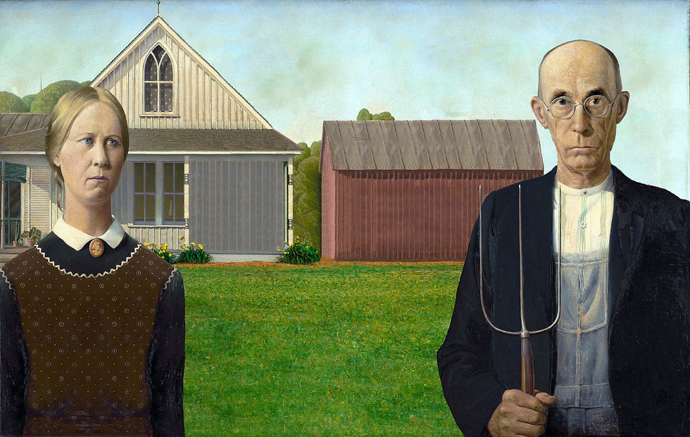 American Gothic_Iconic_Social Distancing