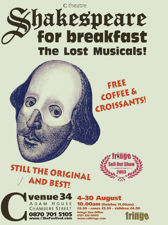 Shakespeare for breakfast