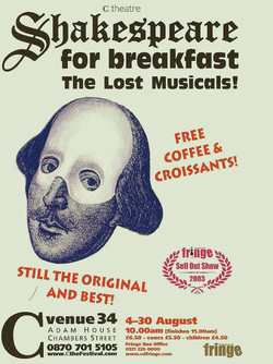Shakespeare For Breakfast