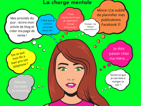 5 façons de réduire la charge mentale
