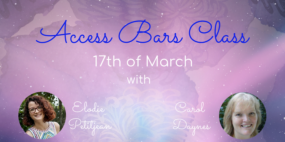 Access Bars© 1 Day Class with Elodie & Carol