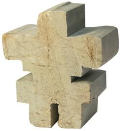 Soapstone Blank Inukshuk Sculpture Carving Kit