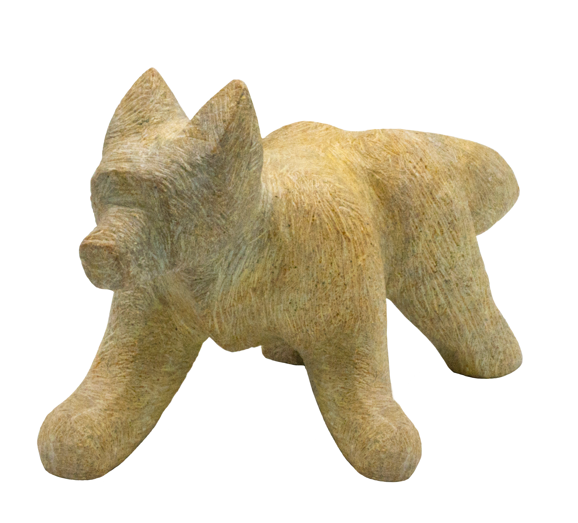 Soapstone Fox Sculpture Carving Kit