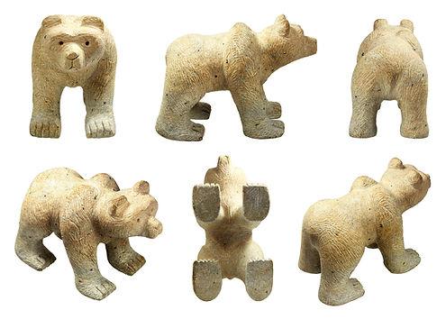 Sculpture Carving Kits Bear Soapstone