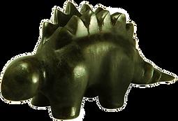 Stegosaurus Dinosaur carvings kits rubble road soapstone