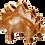 Thumbnail: Stegosaurus Medium Soapstone Carving Kit