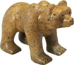 Soapstone Brazilian Brown Bear