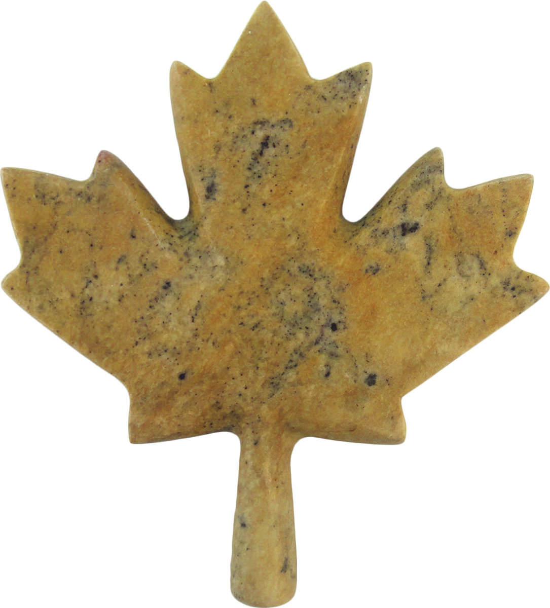 Soapstone Maple Leaf Canada Sculpture Carving Kit