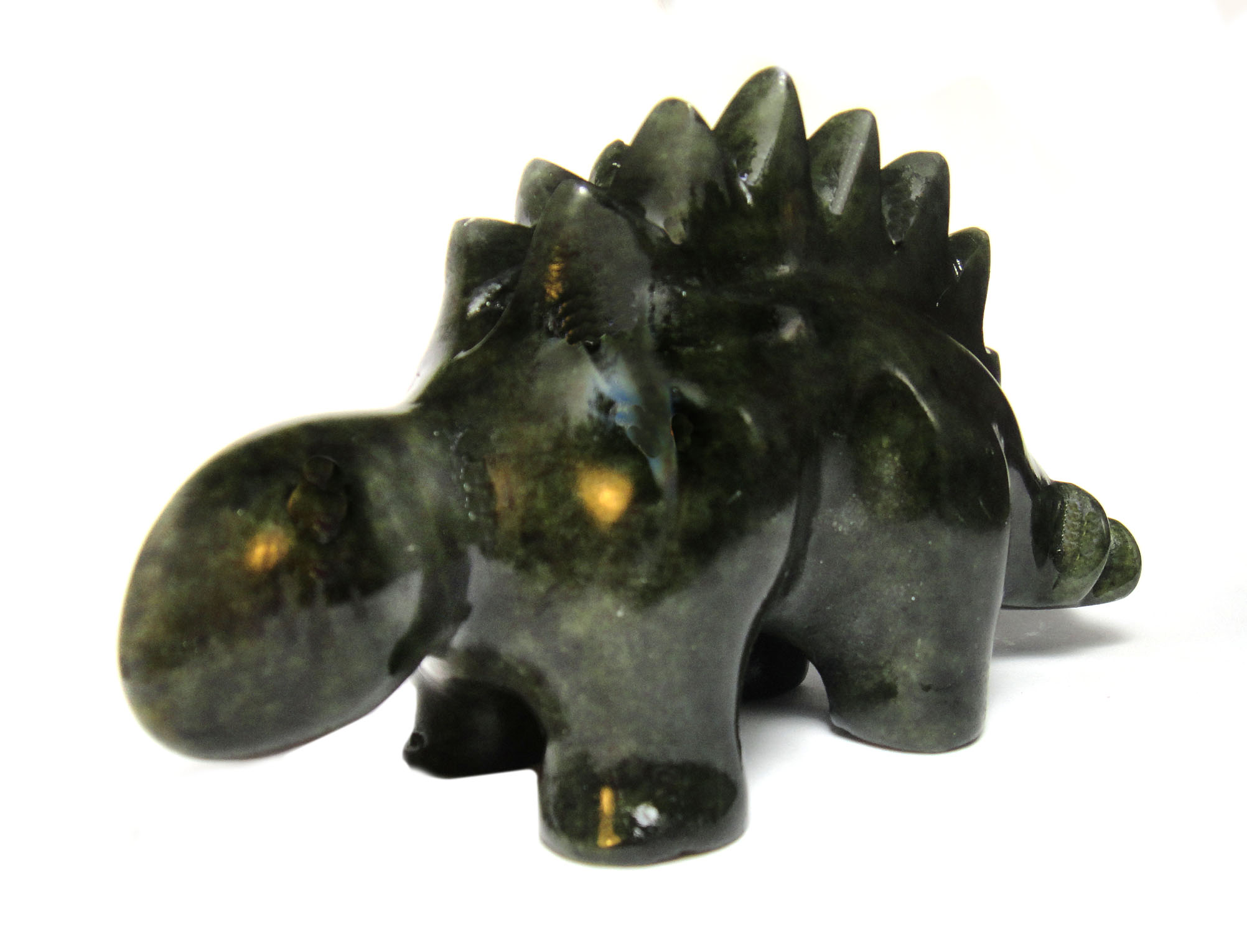 Soapstone Stegosaurus Sculpture Carving Kit