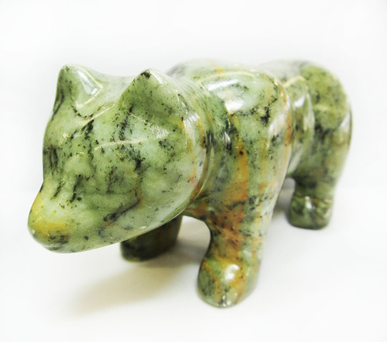 Soapstone Bear Sculpture Carving Kit