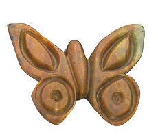 Butterfly Carving Sculpture by Rubble Road Soapstone