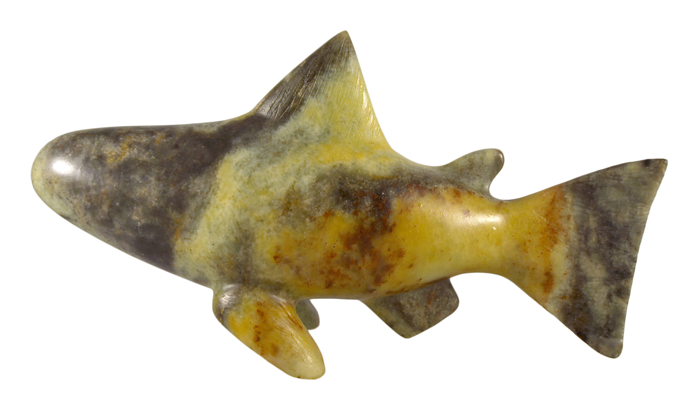 Soapstone Fish Sculpture Carving Kit