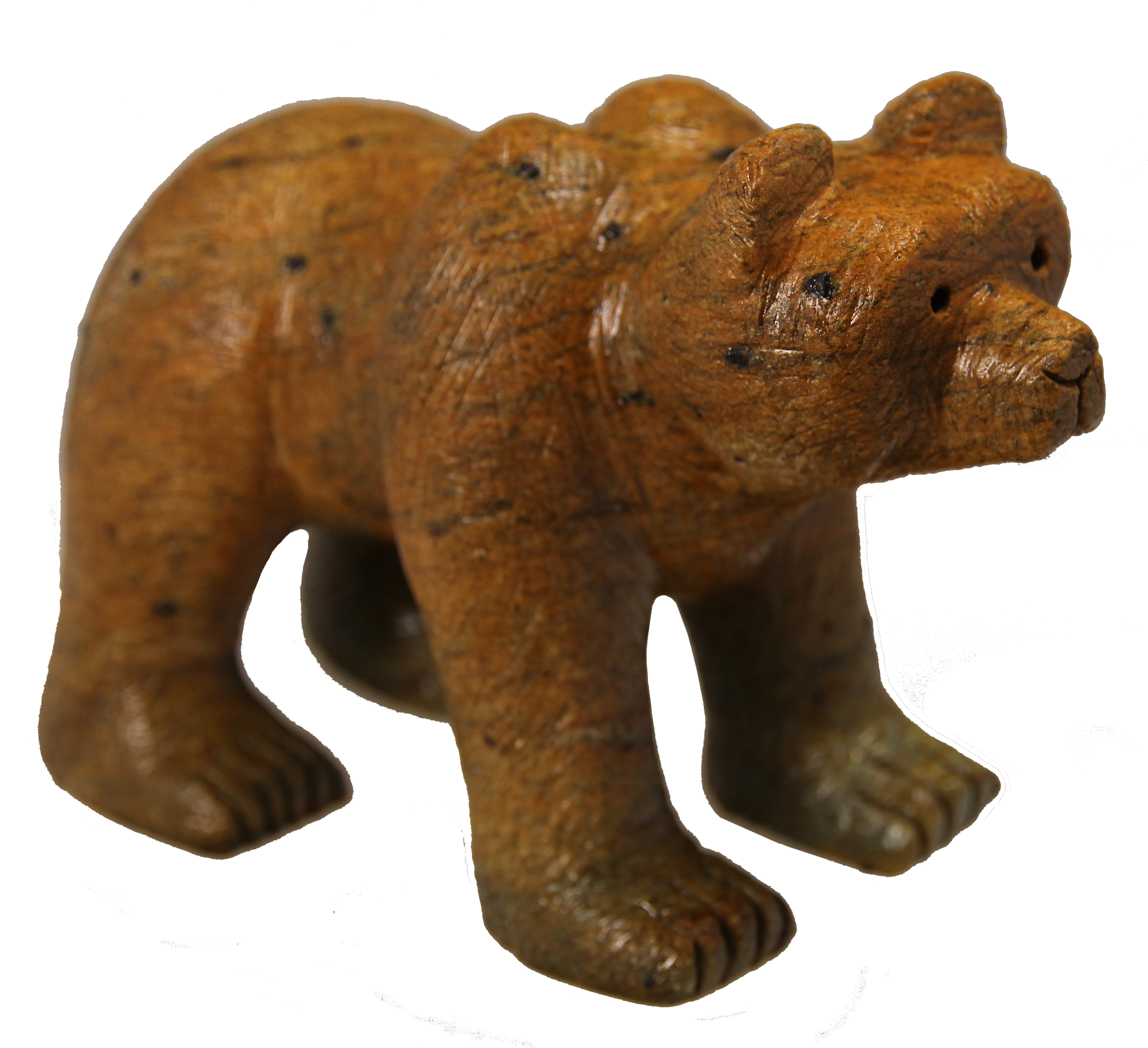 Soapstone Bear Grizzly Sculpture Carving Kit