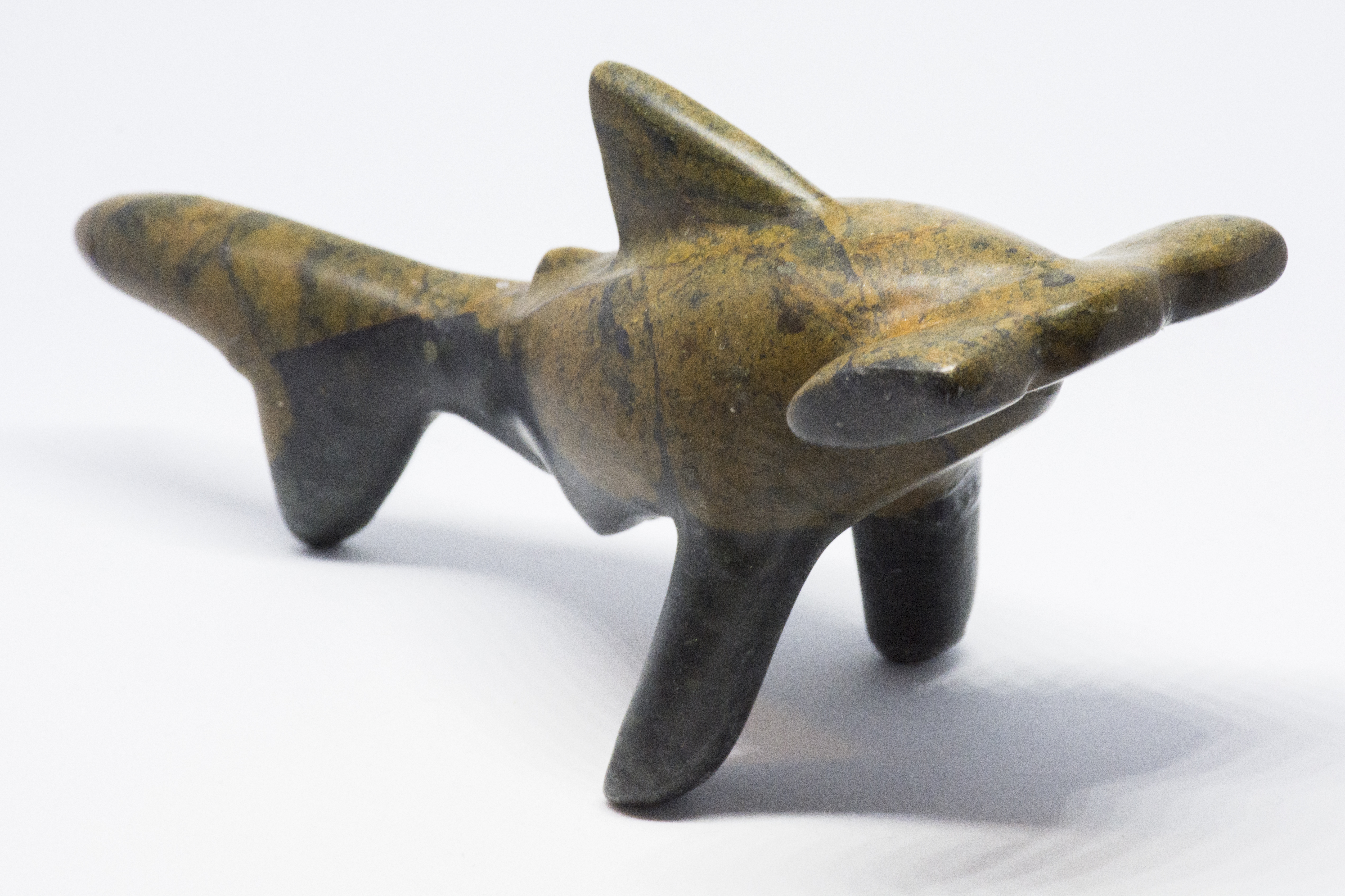 Soapstone Shark Hammerhead Sculpture Carving Kit