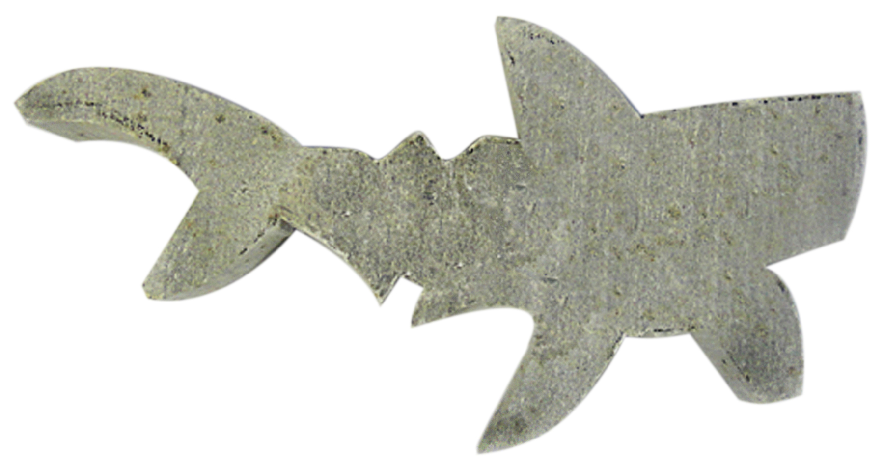 Soapstone Shark Blank Sculpture Carving Kit