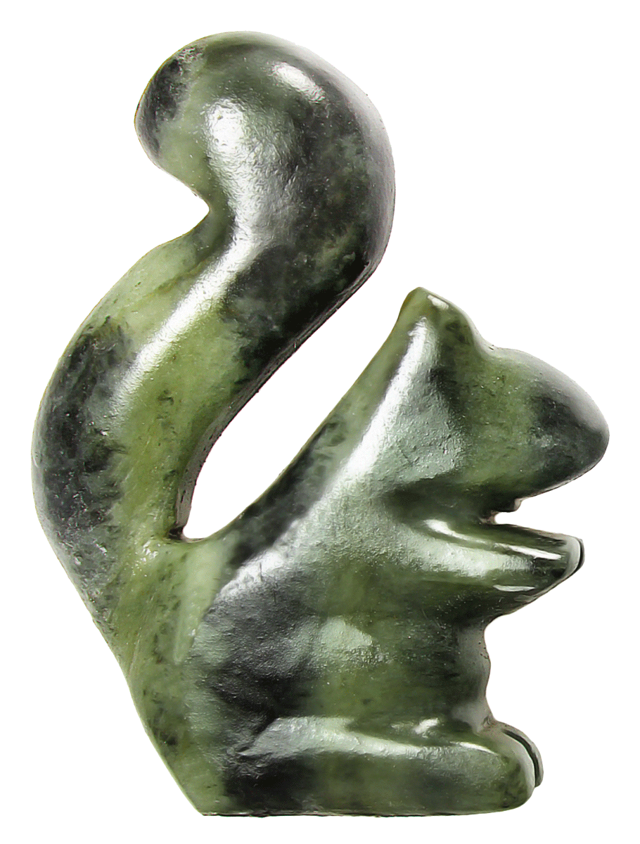 Soapstone Squirrel Sculpture Carving Kit