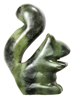 Soapstone Squirrel Sculpture Carving Kit