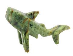 DIY Shark carving sculpture rubble road soapstone