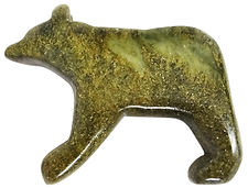 Brazilian Soapstone Bear Carving Sculpture