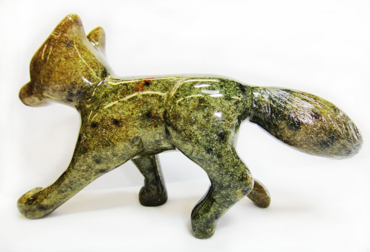 Sculpture Soapstone Carving Kit Fox