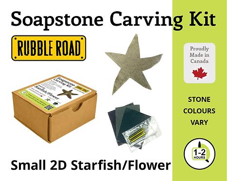 Starfish Small Soapstone Carving Kit
