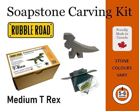 TRex Medium Soapstone Carving Kit