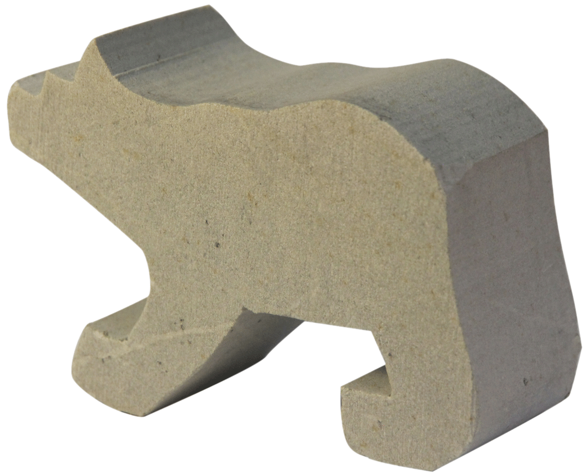 Soapstone Bear Blank Sculpture Carving Kit