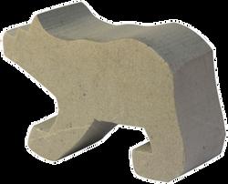 Soapstone Bear Blank Sculpture Carving Kit