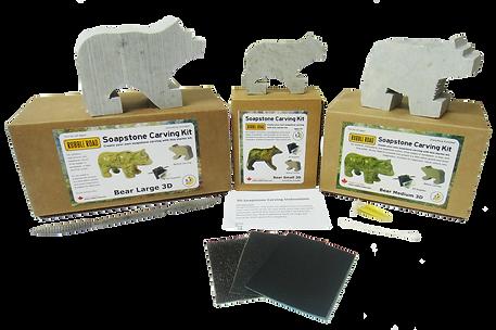 DIY Soapstone Animal Carving Kits
