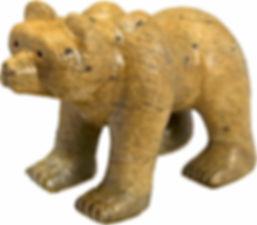 Soapstone Bear Carving