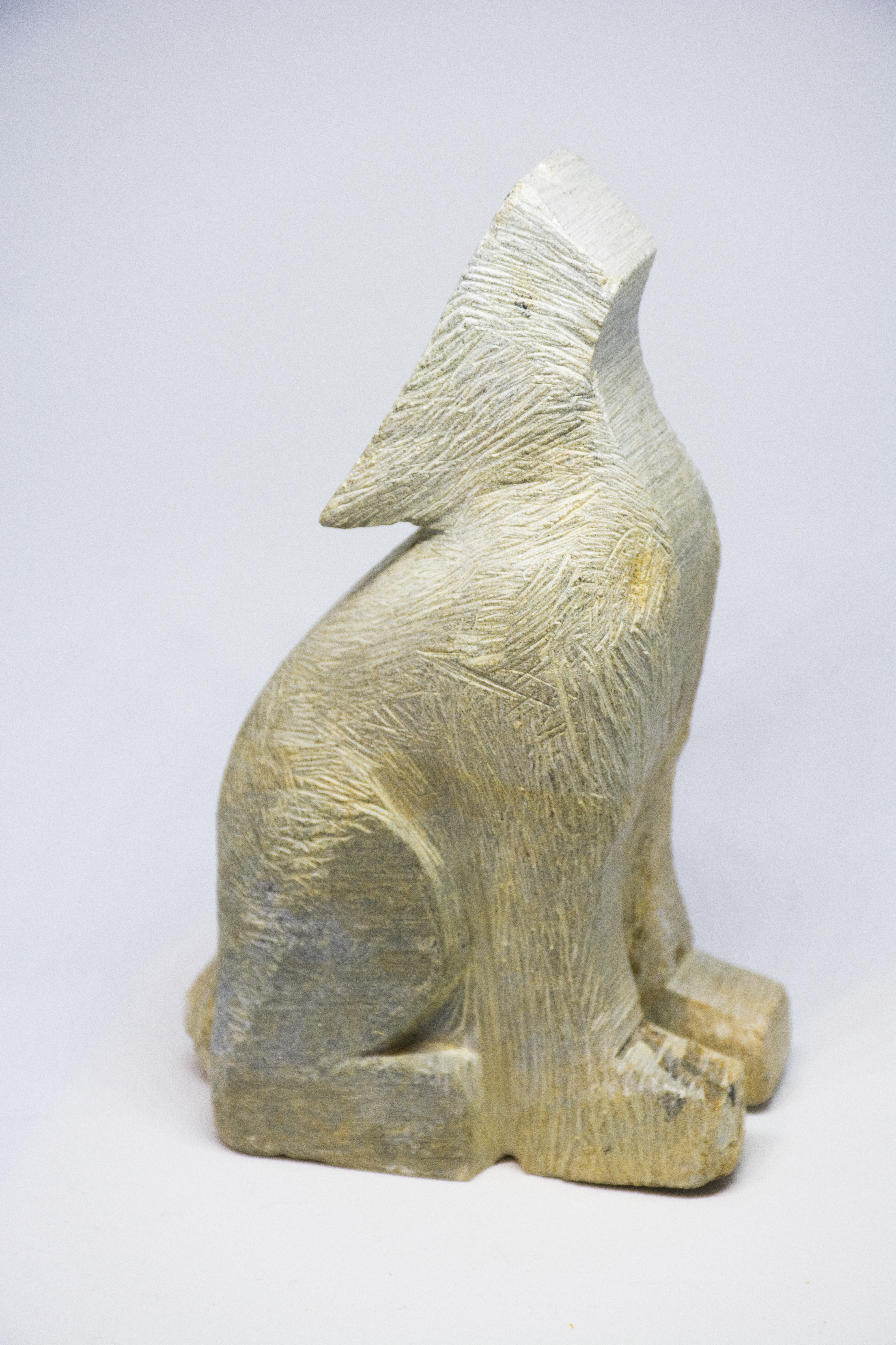 Soapstone Wolf Sculpture Carving Kit