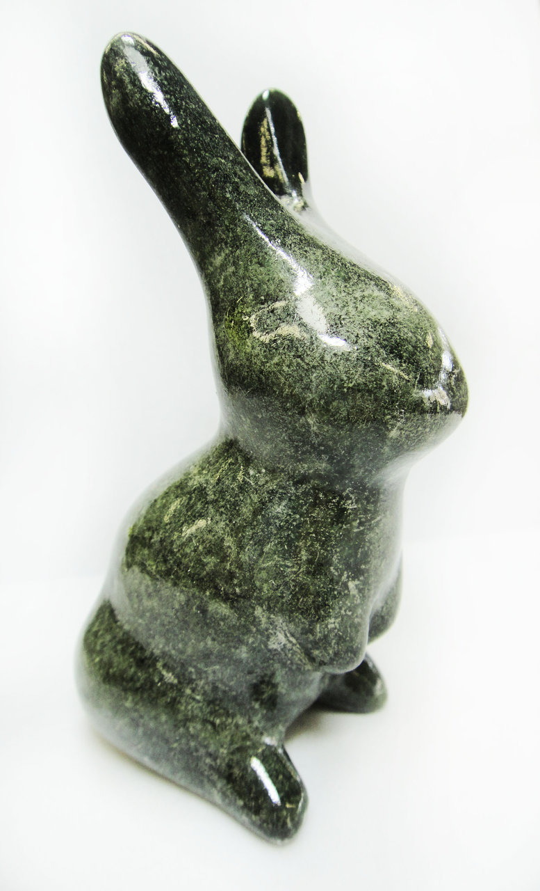 Soapstone Rabbit Sculpture Carving Kit