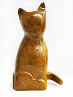Soapstone Cat Sculpture Carving Kit