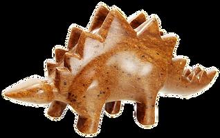 Stegosaurus stone carving kits rubble road soapstone
