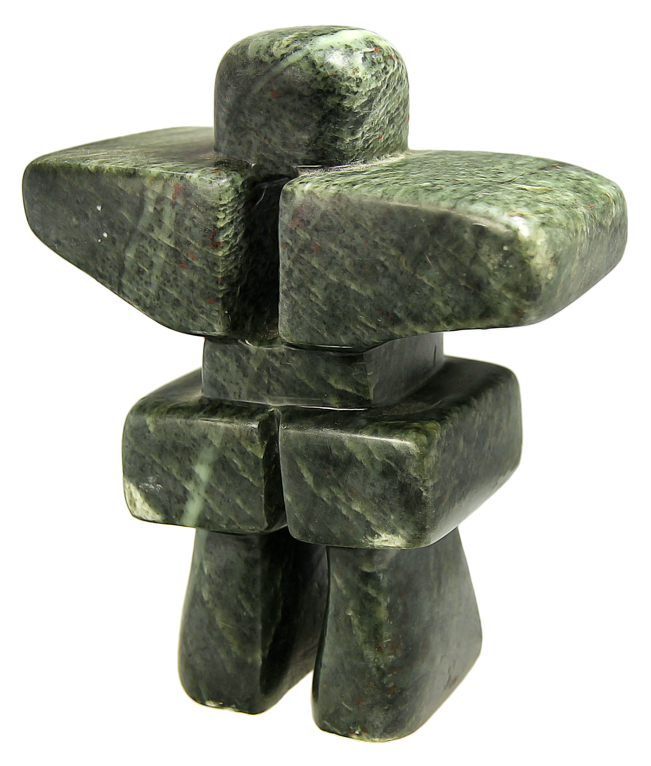 Soapstone Inukshuk Sculpture Carving Kit