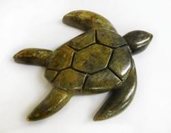 Soapstone Sea Turtle Sculpture Carving Project