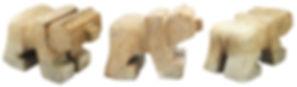 Brazilian Soapstone Bear Carving Kits