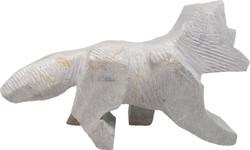 Soapstone Fox Carving Progress Carving Kit